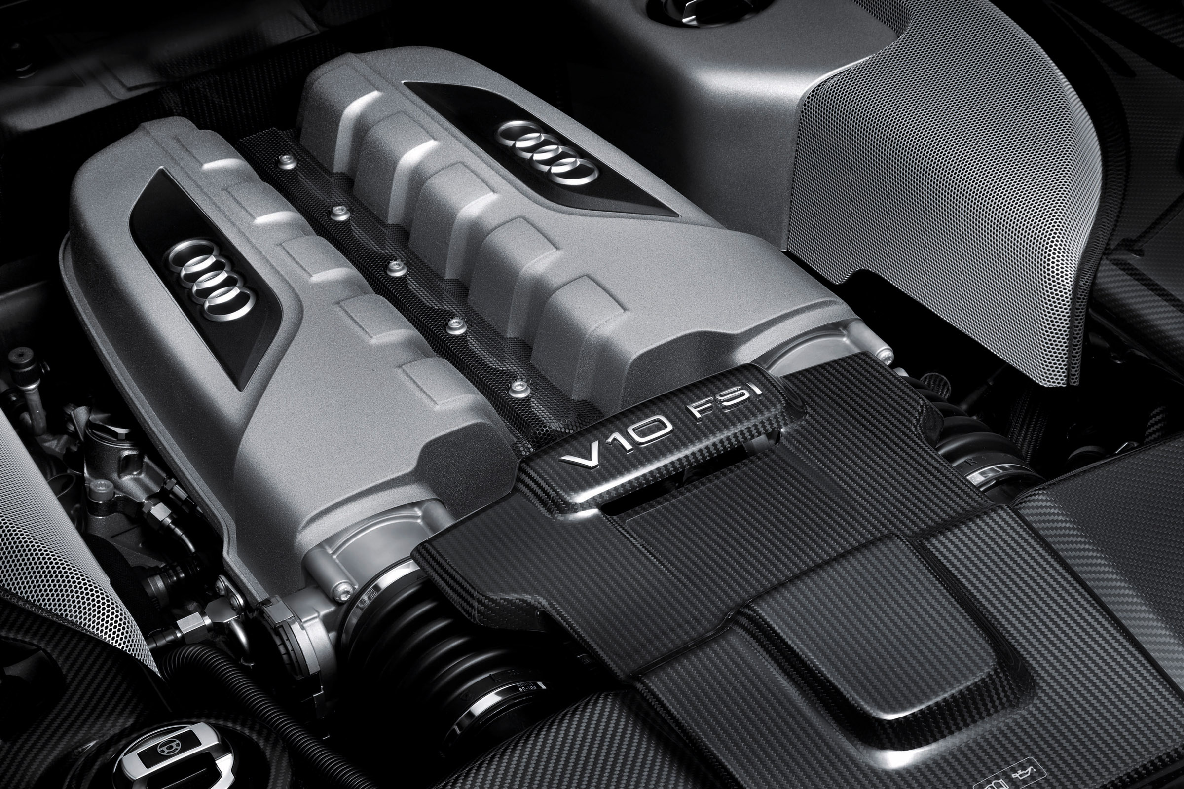 2013 Audi R8 V10 plus 550 hp V10 FSI Engine