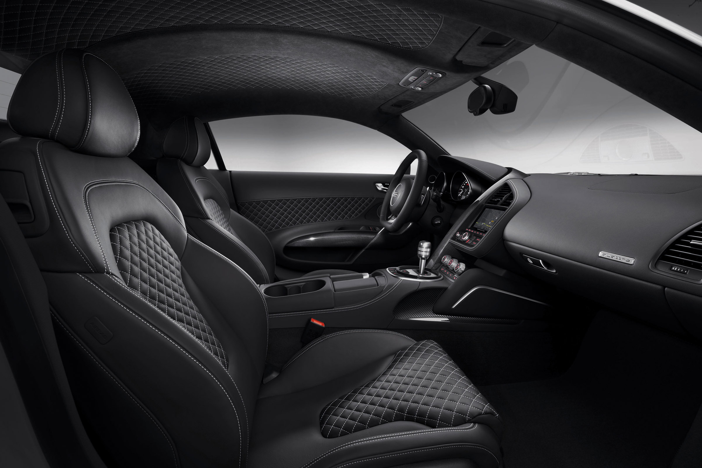 2013 Grey Audi R8 V10 optional bucket seats