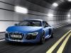 2013 Blue Audi R8 V10 plus Front View