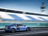 2013 Blue Audi R8 V10 plus Side View