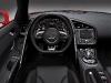 2013 Red Audi R8 Spyder V10 Interior