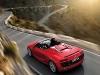 2013 Red Audi R8 Spyder V10 Top View