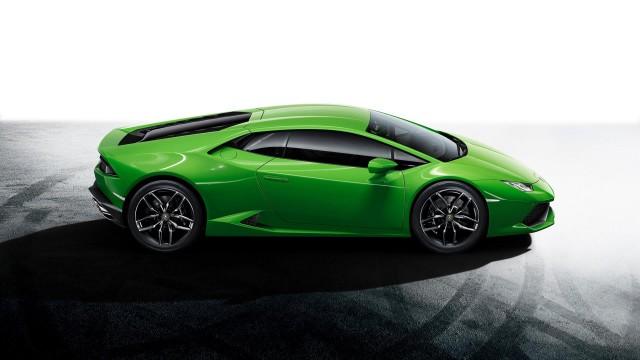 Lamborghini Huracan LP 610-4 สีเขียว