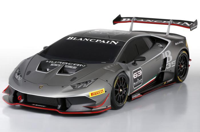 Lamborghini Huracan LP 620-2 Super Trofeo กระทิงรุ่นเล็กตัวแข่ง