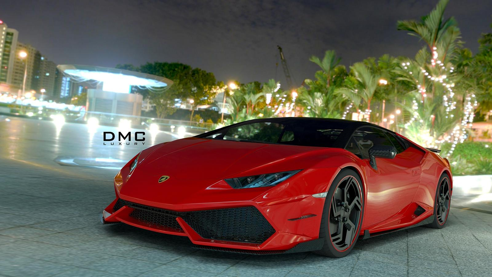 Lamborghini Huracan ชุดแต่งเต็มสูบจาก DMC