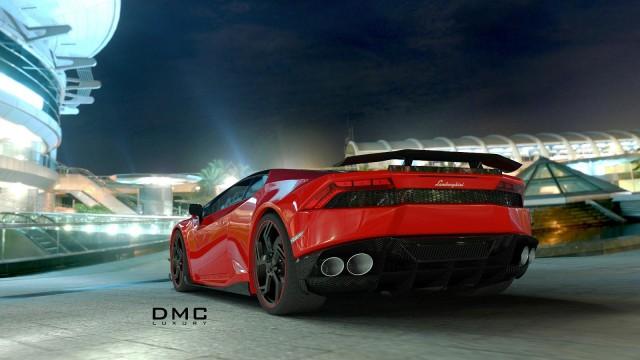 "Lamborghini Huracan ชุดแต่ง ""Affari"" จาก DMC รูปที่สาม"