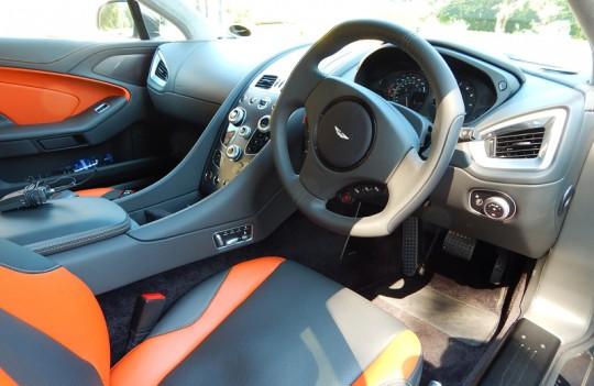 2015 Aston Martin Vanquish Inside
