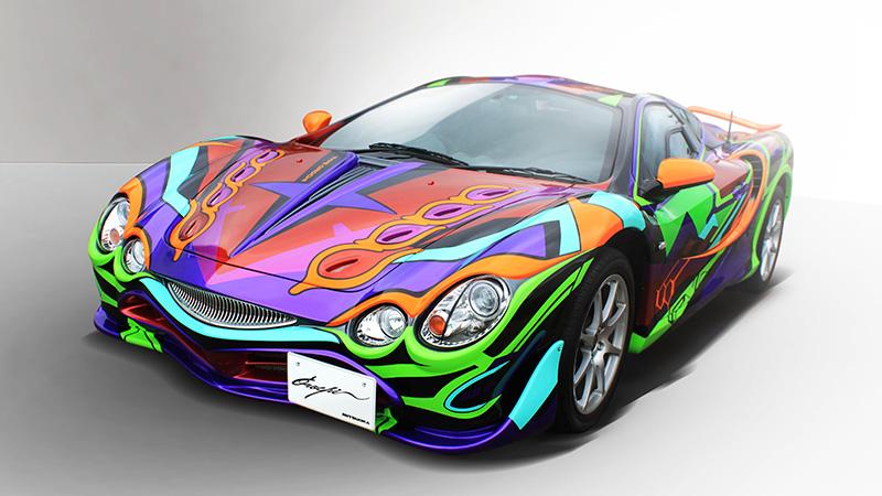 Mitsuoka รถสปอร์ตสุดเทรนด์ล้ำหน้าด้วยสีสันสดใส