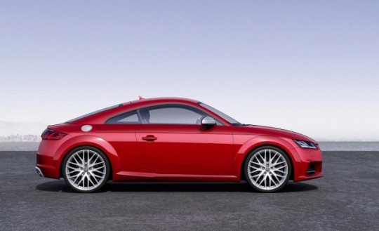 2016 Audi TT รถสปอร์ตมีสไตล์ Picture 3
