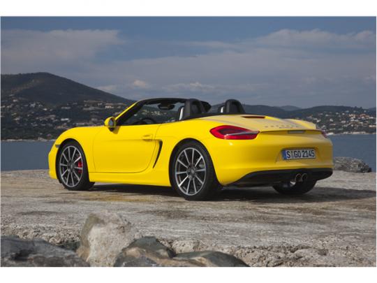 Porsche Boxster รถสปอร์ตเปิดประทุน  2