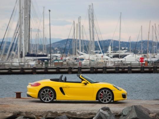 Porsche Boxster รถสปอร์ตเปิดประทุน  3