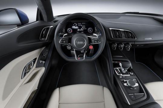 New Audi R8 2015 V10 Plus ภายใน