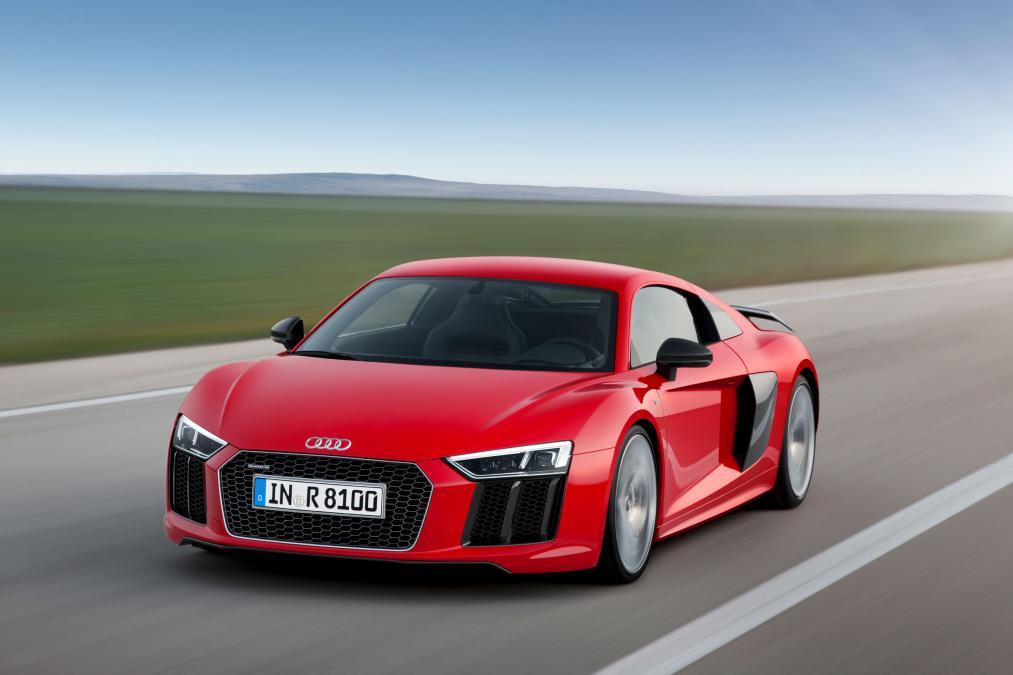 New Audi R8 2015 สวย แรง และประหยัดกว่าเดิม
