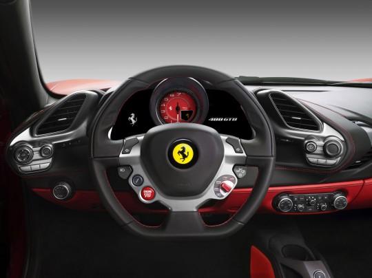 ภายใน Ferrari 488 GTB