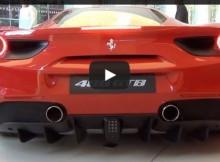 Ferrari 488 GTB SOUND
