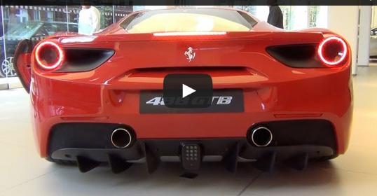 Ferrari 488 GTB เสียงท่อยังคงเป็นเอกลักษณ์เฟอรารี่ หรือไม่?