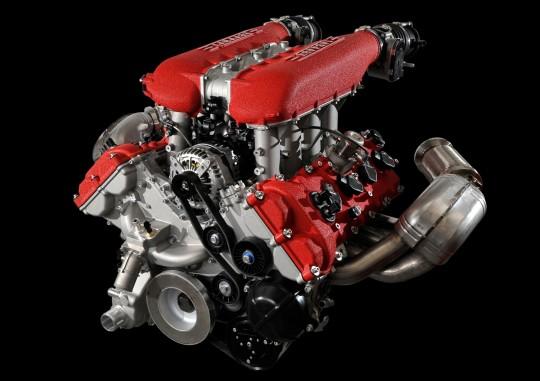 Ferrari 458 Italia 4.5 ลิตร V8 (ไม่มีเทอร์โบ) 570 แรงม้า