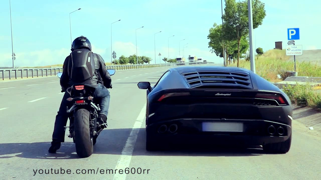 lamborghini huracan vs cbr 1000rr. Black Bedroom Furniture Sets. Home Design Ideas