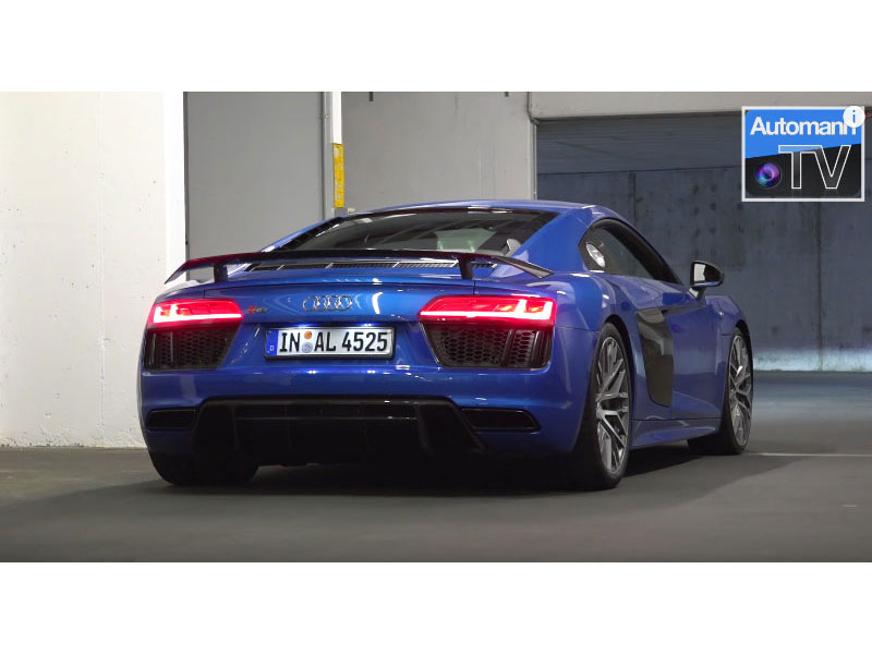 2017 Audi R8 V10 PLUS (610hp) มาฟังเสียงกันว่าเร้าใจแค่ไหน
