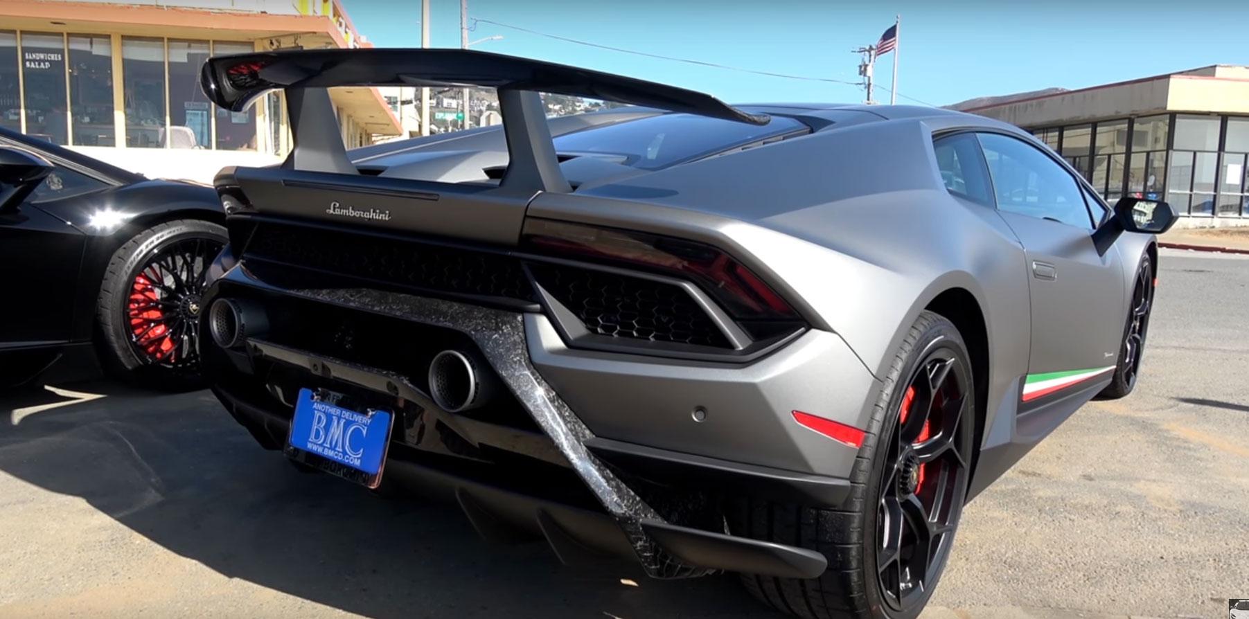 ฟังเสียงท่อโหด ๆ จาก Lamborghini Huracan Performante