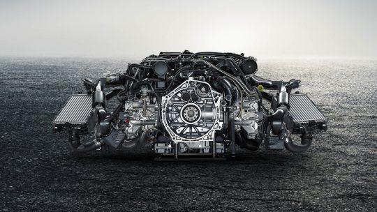 เครื่องยนต์ 2018 Porsche 911 Turbo S Engine