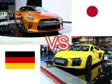 2018 Nissan GTR VS Audi R8