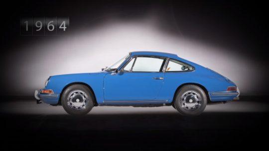 Porsche 911 รุ่นแรกโชว์ตัวเป็นรถต้นแบบเมื่อปี 1963