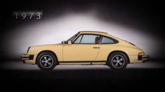 Porsche 911 รุ่นที่ 2 รหัสตัวถัง G Series เปิดตัวในปี 1973