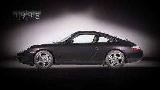 Porsche 911 รุ่นที่ 5 รหัสตัวถัง 996 เปิดตัวในปี 1997