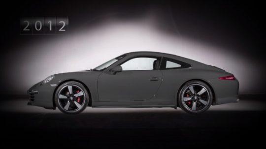 Porsche 911 รุ่นปัจจุบันลำดับที่ 7 รหัสตัวถัง 997 เปิดตัวในปี 2011 ทำตลาดเป็นรุ่นปี 2012
